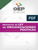 Proyecto Ley Organizaciones Politicas