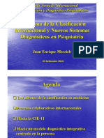 panorama de la clasificacion internacional y nuevos sistemas diagnosticos en psiquiatria