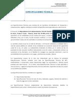 1) Especificaciones Técnicas 00 Generalidades m1
