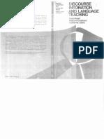 Discourse Intonation and Language Teaching - D. Brazil