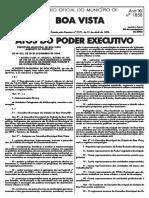 Lei Nº 923 a 926_Diário