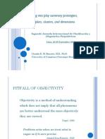 prototipos, ejemplos, categorías y dimensiones - claudio banzato