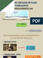 FACTOR DE FRICCION EN FLUJO TURBULENTO.pptx
