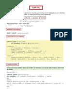 Eventos MYSQL (DAW)