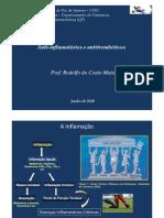 Aula-08-06-2010-Antiinflamatórios e antitrombóticos [Modo de Compatibilidade]