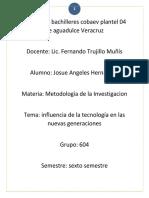 Trabajo de Metodologia de la investigacion