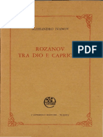 Ivanov 'Rozanov Tra Dio e Capriccio'