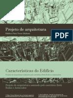 Projeto Arquitetônico Edifício Patio Victor Malzoni