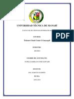 Informe Visita Tecnica Telconet