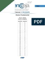 PPL Gabarito Fundamental Historia e Geografia