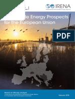 Renewable Energy Prospects for the European Union 2017 - Irena