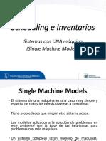 Single Machine Models