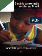 Cenario Exclusao Escolar Brasil