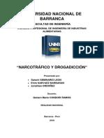 Monografia Narcotrafico y Drogadiccion