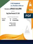 certificado perroton