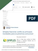 Simples Nacional_ Confira as Principais Novidades Para Os Próximos Concursos!
