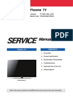 Plasma Samsung PS42C430A1W Service Manual