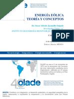 Energia Eólica - Teoria y Conceptos 2013