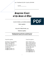 Meade v. Bratenahl Memo in Support of Jurisdiction