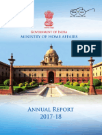 Ministry of Home Affair Ar 2017-18 for Web