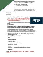 LS7001 Poster Presentation Guidelines