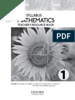 Teacher's Resource Book 1