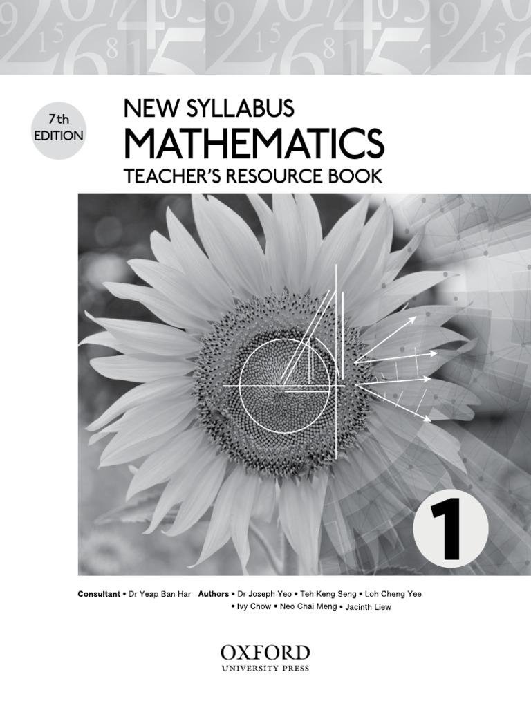 Teacher S Resource Book 1 Trigonometric Functions