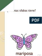 Separar Las Silabas