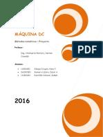 Maquina Dc Monografía