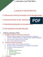Lecture Ch 8 Laboratory