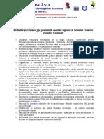 Atributiile Prevazute in Fisa Postului de Consilier La SUDC