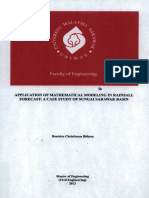 Application of Mathematical Modeling in Rainfall Forecast %3B a Case Study of Sungai Sarawak Basin %2824 Pgs%29