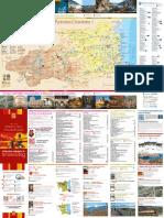 Carte touristique Pyrénées-Orientales