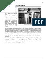 Philip K Dick Bibliography