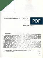 La Sociedad de La Independencia. Rafael Eladio Velazquez