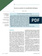 Actualización en Pruebas de Susceptibilidad Antifúngica