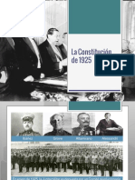 Constitucion de 1925