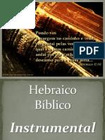 1 - Material de Apoio - ALFABETO HEBRAICO - Consoantes