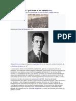 Revolución de 1917 y El Fin de La Era Zarista