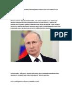Rusia a Venit Cu Soluţii Rezonabile Şi Eficiente Pentru Rezolvarea Crizei Nord Coreene. Încă Se Poate...
