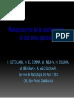 Radioanatomie de La Cavité Nasale