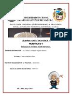 fisica II practica de laboratorio N° 1