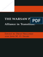 David Holloway, Jane M. O. Sharp (Eds.) - The Warsaw Pact_ Alliance in Transition_ (1984, Palgrave Macmillan UK)