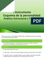 1 Instrumento Esquema de La Personalidad - Análisis Estructural y Funcional