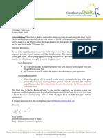 award letter- qi grant relaunch- final1