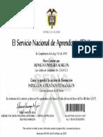 CERTIFICADO ORGANIZACION EVENTOS