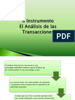 2 Instrumento El Análisis de Las Transacciones