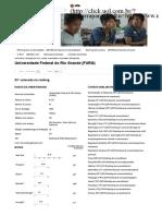 Economia - Perfil 2016 - FURG