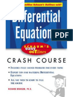 Differential Equations Crash Course