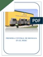 PRIMERA CENTRAL TERMICA DE BIOMASA EN EL PERU.docx